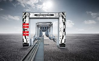 WashTec presents its new SoftLine² Xpress Pro conveyor tunnel system concept.
